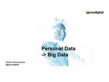 CPS.HUB NRW, Fachgruppe Smart Data & Data Analytics, Quantified Self: Potentiale für Big Data Analytics