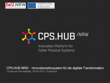CPS.HUB NRW, Innovationsökosystem für die digitale Transformation