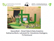 CPS.HUB NRW, Fachgruppe Smart Data & Data Analytics, Gesundheit: Smart Data & Data Analytics