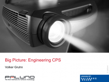 CPS.HUB NRW, Fachgruppe Software, Big Picture: Engineering CPS