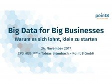 CPS.HUB NRW, Fachgruppe Software, Big Data for Business