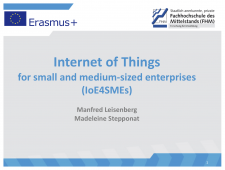 Internet of Things for small and medium-sized enterprises (IoE4SMEs)