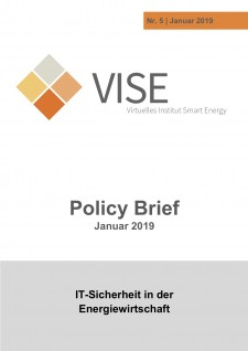 IT-Sicherheit in der Energiewirtschaft, VISE Policy Brief